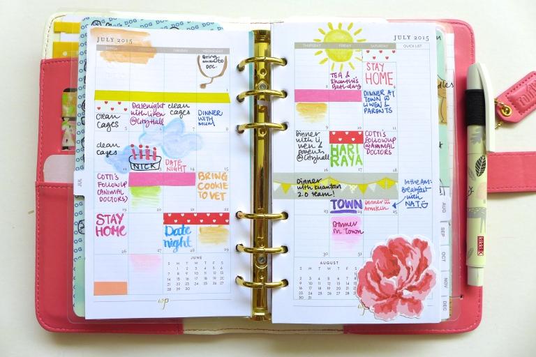 Planner Spread - July